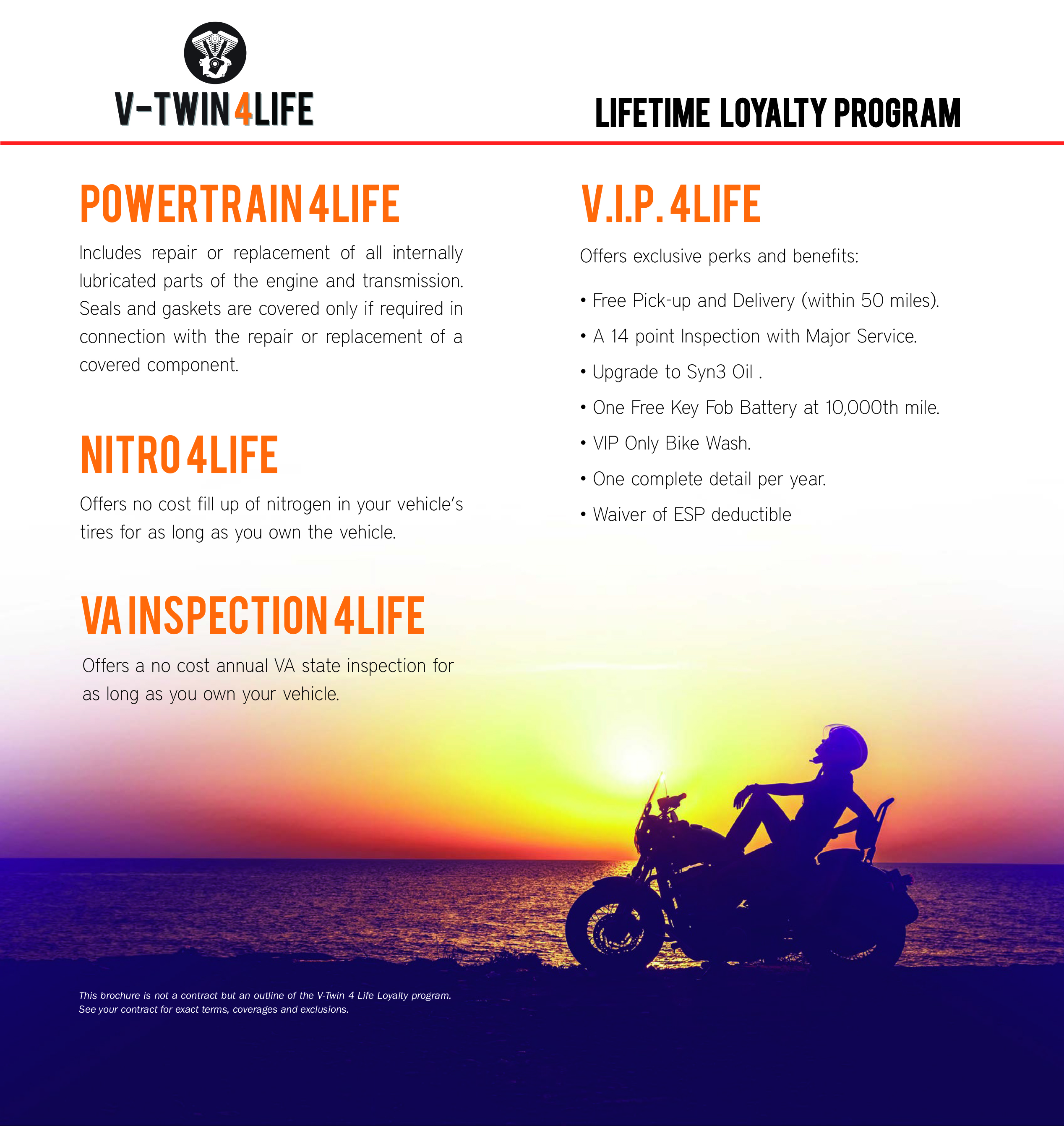 Life Time Loyalty Program